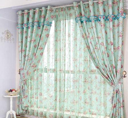 窗帘搭配法 生活更温馨