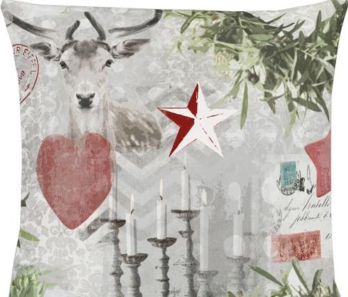德国时尚家纺品牌圣诞节元素靠垫增添生机活力