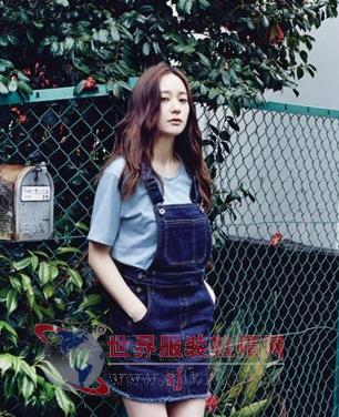 郑秀晶2015街拍写真 造型清新气质脱俗(图)